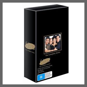 "SEINFELD Complete seasons series 1, 2, 3, 4, 5, 6, 7, 8 & 9 DVD Box Set R4 ""sale"