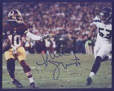 Seahawk Malcolm Smith Super Bowl MVP vs Redskins Autograph B Blue Pen