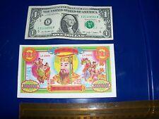 45 Chinese heaven hell  money notes. $800,000,000 bill Joss paper