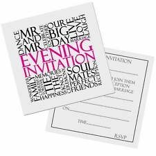 MR and MR Same Sex Gay Wedding Evening Invitation Cards 10pk invites FREE POST