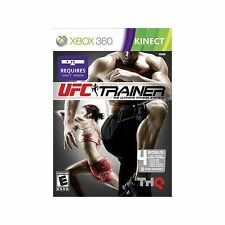 UFC Personal Trainer The Ultimate Fitness System Xbox 360, Tested, works great!