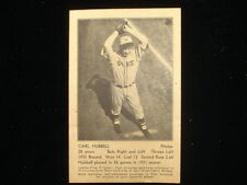 1932 New York Giants Schedule Post Card