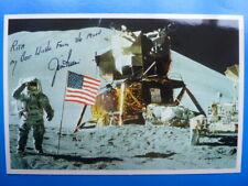 James B. Irwin † 1991 (USA), NASA Raumfahrt - Astrocard signiert (mit Widmung)