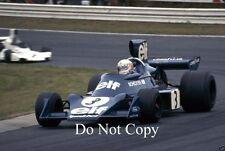 Jody Scheckter Elf Tyrell 007 German Grand Prix 1974 Photograph 1