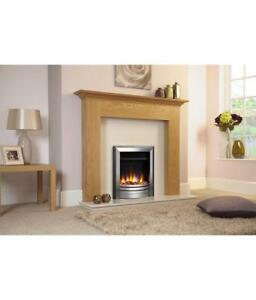 Celsi Fire Ultiflame VR Frontier Inset Electric Fire Silver & Black