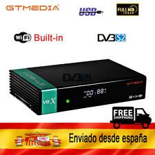 V8X GTMEDIA  Satellite TV Receiver DVB-S2/S2X  freesat V8 Super built-in WIFI