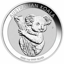 2020 P Australia Koala 1 oz .9999 Silver Round Capsuled BU Gem Coin - IN STOCK!!
