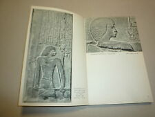 LA SCULPTURE EGYPTIENNE DE JACQUES VANDIER CHEZ HAZAN 96 ILLUS NOIR HT 1954