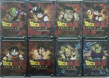 Set Of 8 Dragon Ball Z New Anime DVD Lot From Vegeta Saga Near Complete Of Uncut