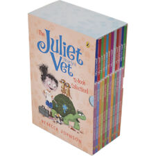 Juliet Nearly a Vet 12 Book Collection Rebecca Johnson Dogs Bush Baby