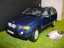 BMW X5 3.0d bleu 1/18 KYOSHO boutique 80439411688 voiture miniature collection
