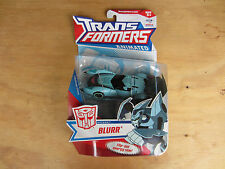 Transformers Action Figure deluxe class Animated Autobot Blurr 2008 MOSC New