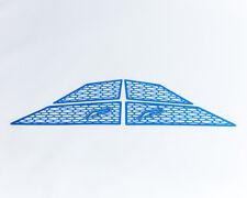 Agency Power Blue Aluminum Side Vent Covers Kit Polaris RZR XP/XP 4 Turbo