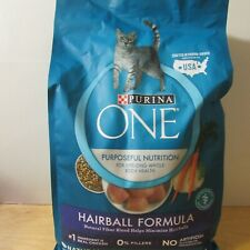 Lot of 2 Bags of Purina ONE Hairball Adult Formula Dry Cat Food 3.5-lbs ea