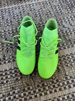 Adidas Nemeziz Messi 18.3 FG Soccer Cleats Youth Size 6 Green/Black DB2113