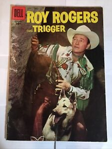 ROY ROGERS and TRIGGER No. 109 JANUARY 1957 Dell Comic Book