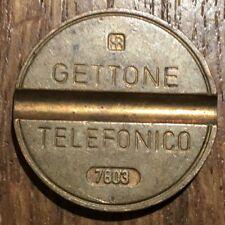 JETON DE TÉLÉPHONE ITALIE GETTONE TELEFONICO 7803 (487)