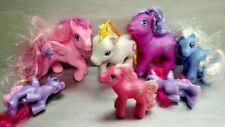 7 - G3 My Little Pony MLP Brushable Rare Horse Bundle Lot Era 2002-2006 Ponies