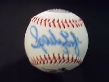 Sparky Lyle Autographed Patriots Baseball Cy Young Winner: DISCOUNTED