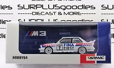 Tarmac Works 1:64 Scale 2018 Hobby64 BMW M3 E30 DTM 1992 FINA Johnny Cecotto