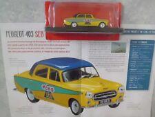 """VÉHICULE PEUGEOT 403 PUBLICITAIRE TOUR DE FRANCE """"MOKA-SEB"""" 1961. (1/43éme)."""