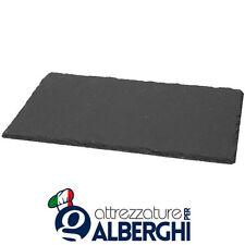 Piatto vassoio tagliere ardesia rettangolare 20x10 cm Acquisto minimo 12 Pz