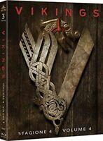 Vikings - Stagione 4 Parte 1 - Cofanetto Con 3 Blu Ray - Nuovo Sigillato