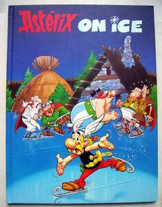 ALBUM ASTERIX ON ICE ( sur glace ) EN ALLEMAND - 1996