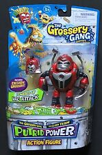 1he Grossery Gang Series 3 Powered Up Vac Attack Action Figure New
