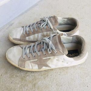 Authentic Golden Goose1 Delxe Brand Men Sneakers Size 42, 27 cms.