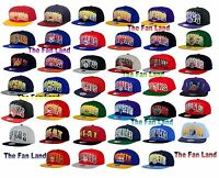 New NBA Mitchell and Ness Mens Double Bonus Snapback Cap Hat