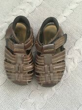Stride Rite Boys Leather Sandals 8