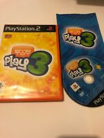 🥳 jeu playsation 2 ps2 ps3 pal fr eye toy play 3