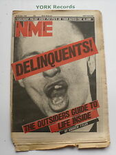 NEW MUSICAL EXPRESS NME - October 15 1983 - DELINQUENTS / POLICE / PIL