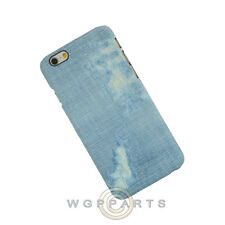 Apple iPhone 6/6s Candy Skin Faded Blue Jeans Case Cover Shell Guard