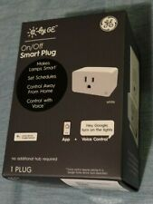 Genuine C by GE On/Off Smart Plug Use With Google Assistant WiFi No Hub Required