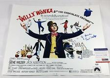 "GENE WILDER SIGNED ""WILLY WONKA"" 16X20 METALLIC PHOTO PSA ITP COA 7A42"