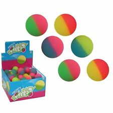 Small Frosty Jetball High Bouncy Ball 3.5cm Stocking Filler Kids Childs Toys