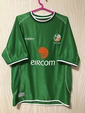 IRELAND 2002 2003 UMBRO HOME FOOTBALL SHIRT SHIRT WORLD CUP FAI