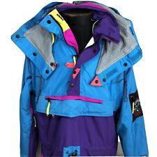 Vintage Helly Hansen Jacket Medium Tech Ski Sailing Coat Windbreaker Mountain
