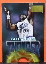 Karl Malone/John Stockton card Thunder and Lightning 96-97 Skybox #9