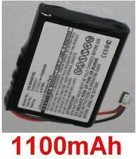 Batterie 1100mAh type DSNA001 J2679 Pour Blaupunkt Navi GPS