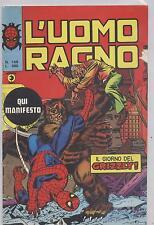 L'UOMO RAGNO - NR. 168 - ANNO VII - 7 OTTOBRE 1976 - IL GIORNO DEL GRIZZLY