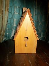 Handmade Solid Pine Birdhouse