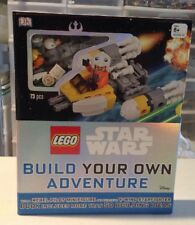 Lego Star Wars Build Your Own Adventure Book With Y-wing Minifigure NEW