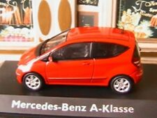 MERCEDES BENZ A KLASSE ROUGE SCHUCO 1/43 ROT RED ROUGE CLASS CLASSE ROSSO