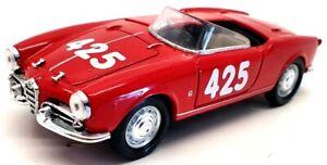 Solido 1/43 Scale Model Car AES3334 - 1958 Alfa Romeo Giulietta Spider - Red