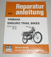 Reparaturanleitung Yamaha Enduro Trail Bikes 100 / 125 / 175 ccm