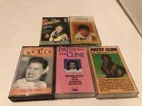 Patsy Cline Cassette Lot - 5 Tapes