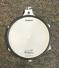 USED Roland PD-100 White Electronic V-Pad Mesh Drum Trigger